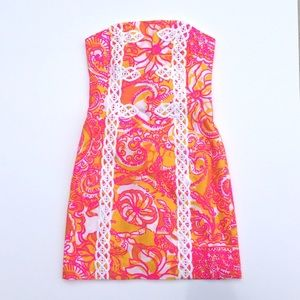 Lilly Pulitzer Tansy Strapless Dress